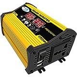 KKmoon Inversor de onda senoidal modificado de alta frequência 4000W Peak Power Watt Power Inverter Conversor DC 12V para AC