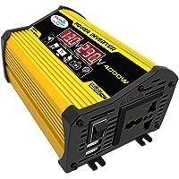 Decdeal Modifiye Sinüs Dalga İnvertör Yüksek Frekans 4000W Tepe Güç Watt Güç Çevirici AC 220V Dönüştürücü Araba Güç şarj…