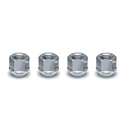 White Knight 1307-14S M12x1.25 Open End Bulge Acorn Lug Nut, (Pack of 4): Automotive