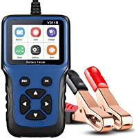 MEEARO Professional 12V 20-1200 CCA 220AH Automotive Load Battery Tester Digital Analyzer Bad Cell Test Tool for Car…