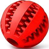 TIGERNU Dog Toy Treat Ball Interactive Dispenser Chew Ball Treat IQ Ball for Teeth Clean