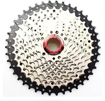 1pcs bike Freewheel 10s Cassette MTB 10 Speed 11-40T Flywheel Silver Black