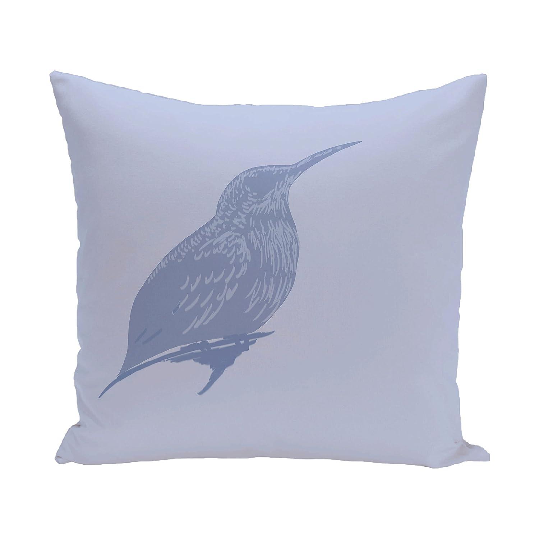 E by design O5PAN251BL16-18 Printed Outdoor Pillow