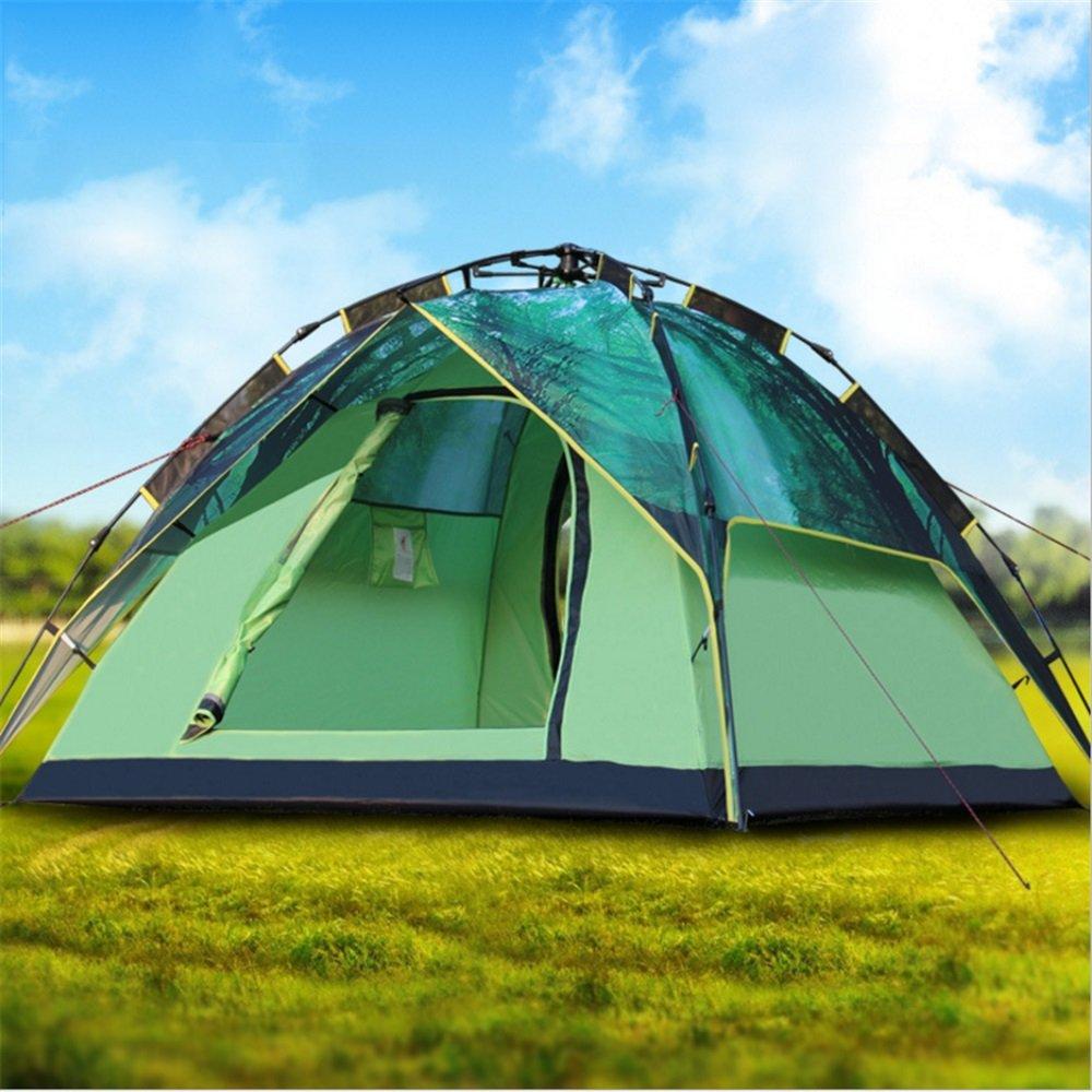 TLMY 3-4 Personen Doppel Camping Automatische Zelt Outdoor Doppel  Herrenchen Camping Zelt Zelte