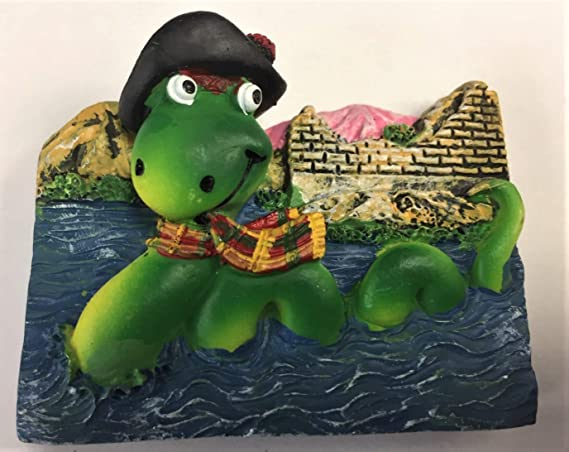 FANCYTHAT and SCIFI PLANET Scotland Magnet Resin Nessie on ...