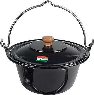 Feuerschalen & Terrassenöfen Gulaschkessel Emailliert 10l Schwarz Halten Sie Die Ganze Zeit Fit Kochgeschirr