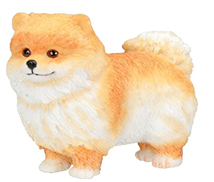 Buy Pomeranian Puppy Dog Collectible Figurine Statue Sculpture