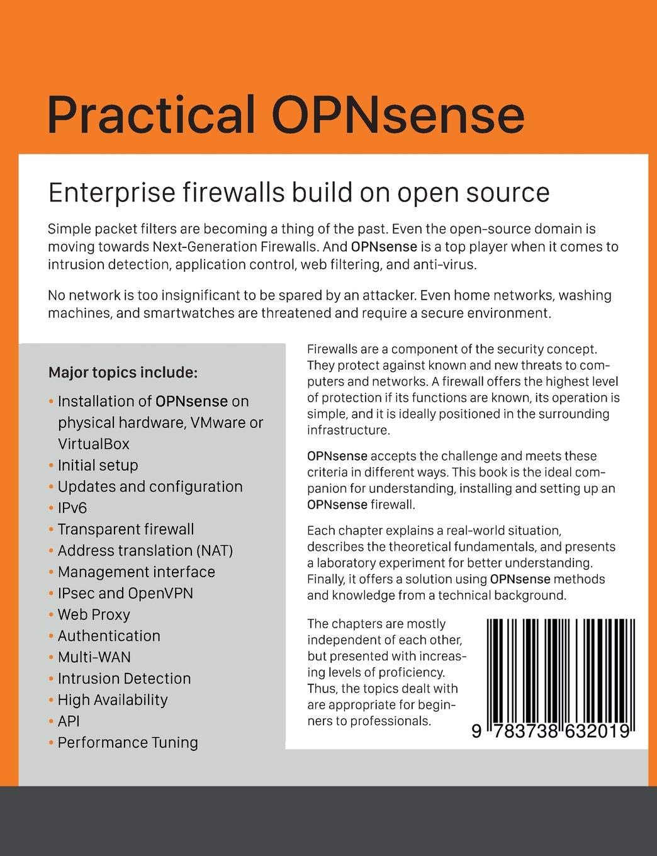 Practical OPNsense: Markus Stubbig: 9783738632019: Amazon