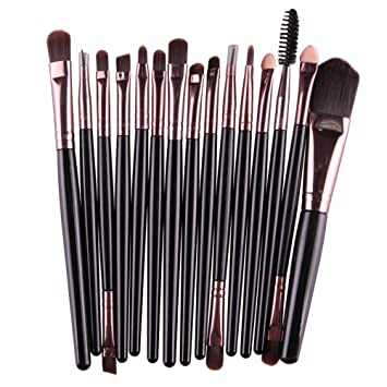 Amazon.com  15pcs Makeup Brushes Clearance Sale 25fc99bbf715