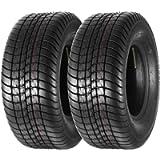 MaxAuto Set of 2 Bias Trailer Tire 205/65-10 20.5x8.00-10 LRC 6PR