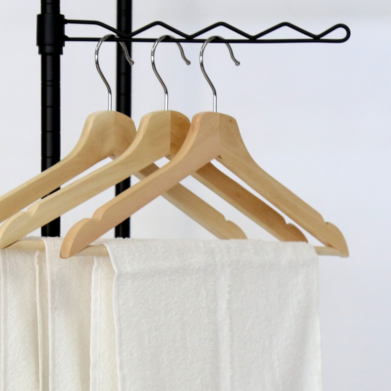 Amazoncom Kinbor Metal Black Closet Organizer Clothes Hanger Utility Storage