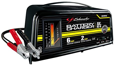 71KCQdiODZL._SX463_ amazon com schumacher se 82 6 dual rate 2 6 amp manual battery schumacher battery charger se-82-6 wiring diagram at n-0.co