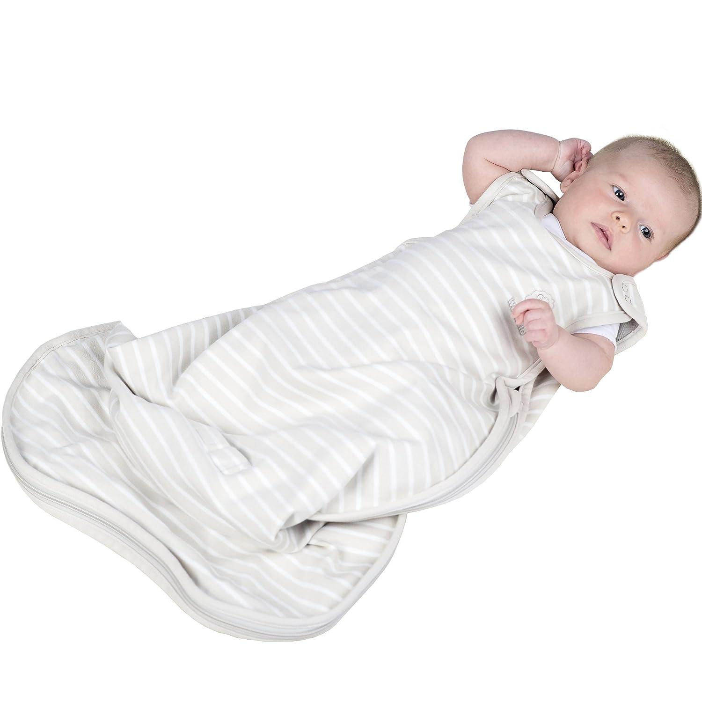 Saco de dormir para bebé de Woolino, 4 temporada lana de Merino - Saco de dormir, suaves de lujo &, lavable a máquina), 2 meses a 2 años beige beige: ...