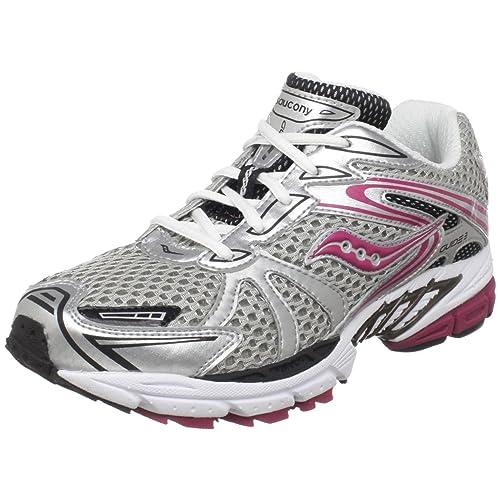 Saucony - Zapatillas de running de sintético para niña rosa rosa, - grey - Silver - Pink, J5: Amazon.es: Zapatos y complementos