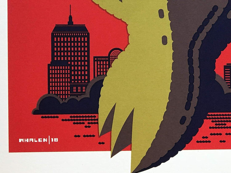 Amazon.com: Pearl Jam boston poster fenway park tom whalen green ...