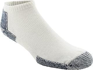 product image for Thorlos Unisex Running No Show Single Pair White/Navy Socks LG (Men's Shoe 9-12.5, Women's Shoe 10.5-13)