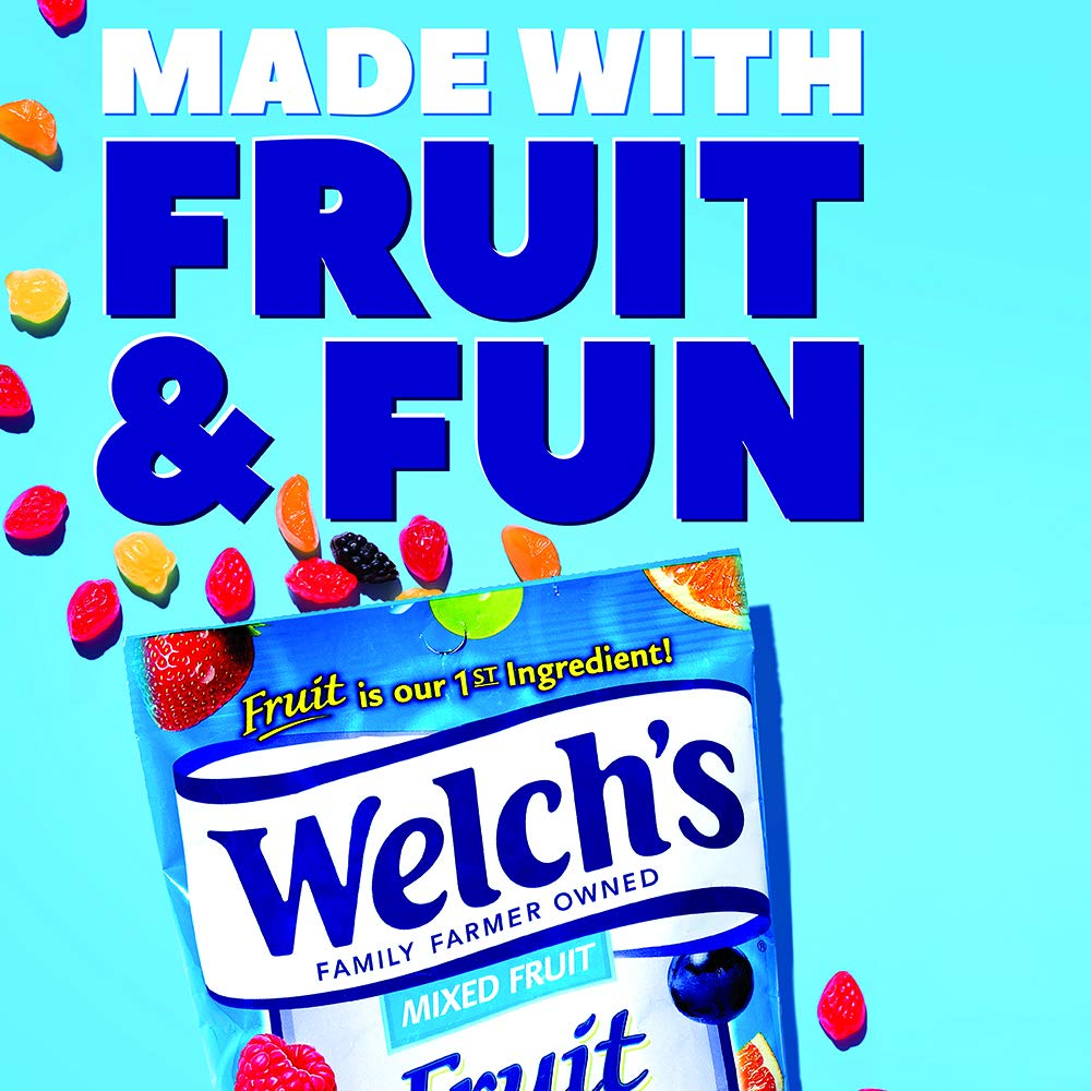 WELCH'S Berries 'n Cherries Fruit Snacks, 0.9 Ounce, 40 Count by Welch's (Image #6)