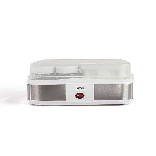 Domoclip DOP156 para Máquina para hacer Yogurt y Queso Gris 1,2 L ...