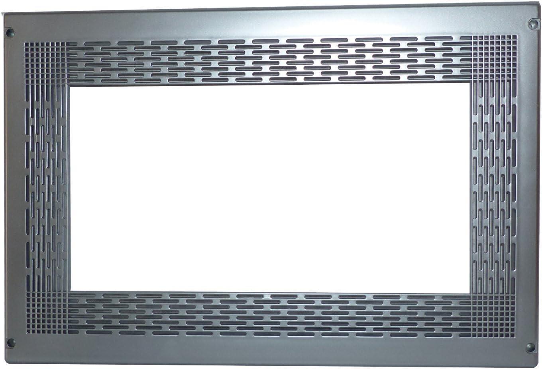 MARCO PARA MICROONDAS COMELEC 60X40 CM MATERIAL PLÁSTICO ACABADO EN COLOR INOXIDABLE MATE. REF. 945