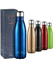 Botella de Agua Deportiva de Acero Inoxidable Hermético - Mantiene el Calor y el Frio Doble