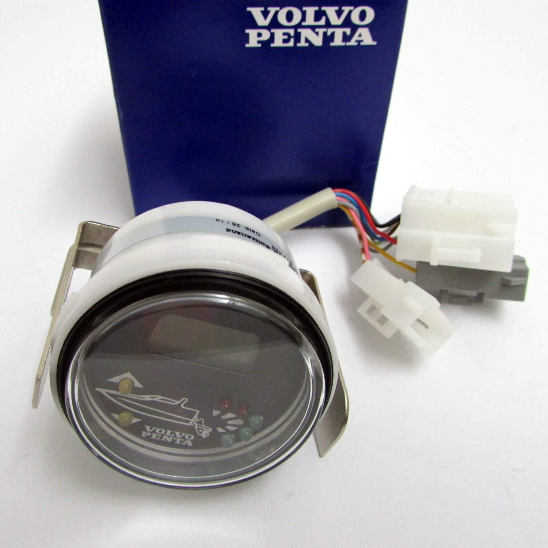 Volvo Penta New OEM Trim Control Unit Gauge, 872498: Amazon