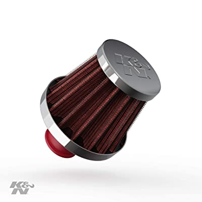 K&N Vent Air Filter/ Breather: High Performance, Premium, Washable, Replacement Engine Filter: Flange Diameter: 0.375 In, Filter Height: 1.75 In, Flange Length: 0.5 In, Shape: Breather, 62-1600RD: Automotive