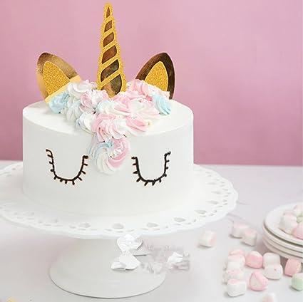 Amazon Handmade Unicorn Birthday Cake Topper Decoration Party