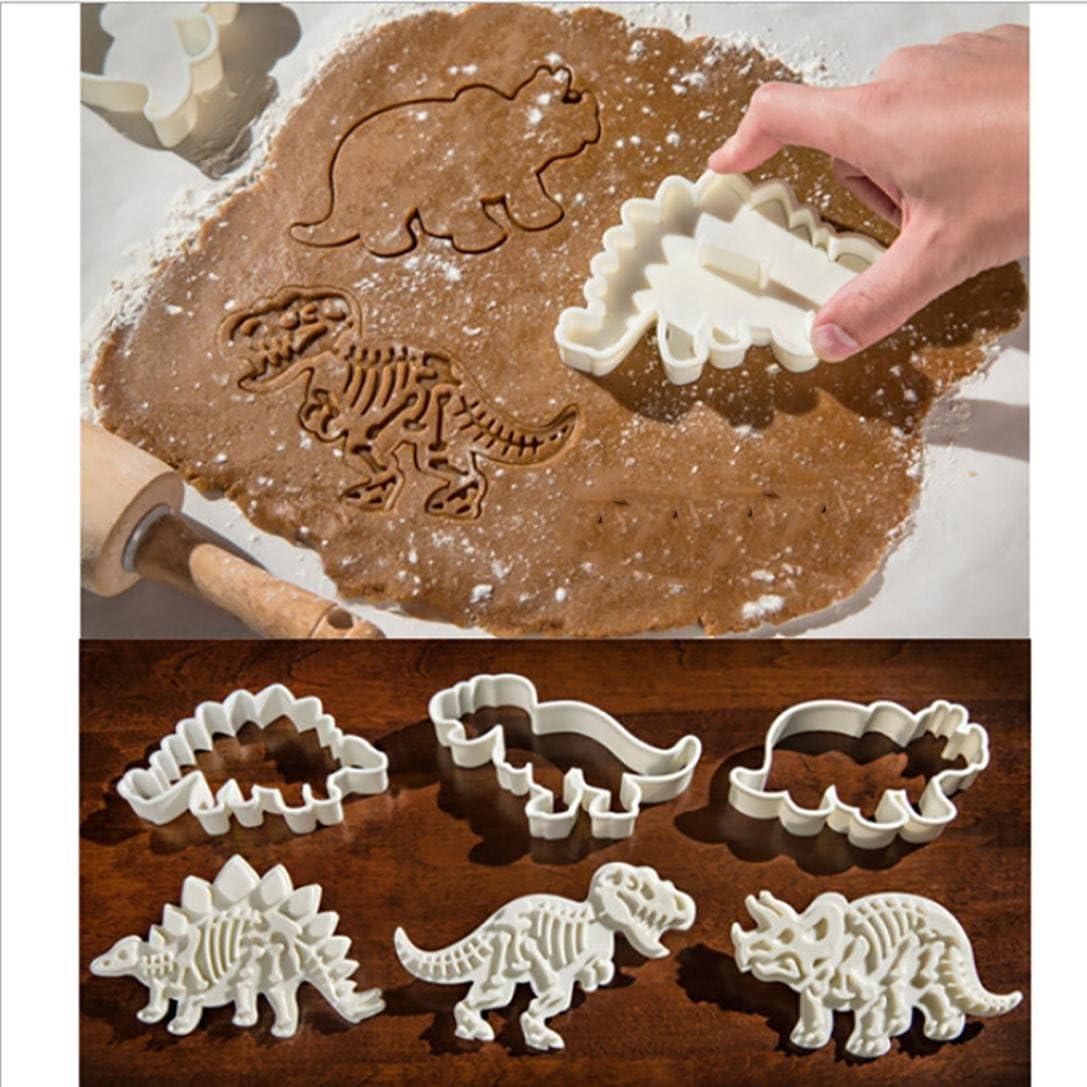Moules à cookies en forme de Dinosaure pour créer des cookies bons et funs