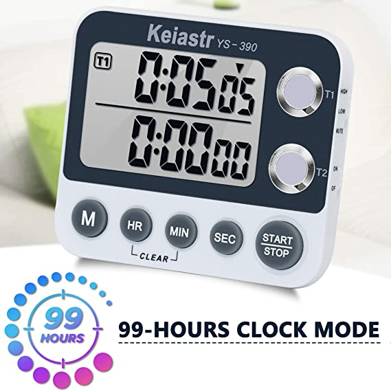 Kitchen Cooking Timer Baking Time Manager Mechanical Countdown Zoo Timer