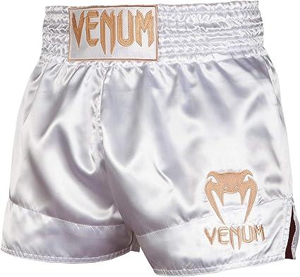 Venum Muay Thai Pantalones Cortos Para Hombre Talla L Color Blanco Y Dorado Amazon Com Mx Deportes Y Aire Libre