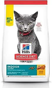 Hill's Science Diet Kitten Indoor Chicken Recipe Dry Cat Food 3.17kg