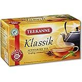 Teekanne Klassik Schwarztee 20 Beutel, 4er Pack (4 x 35 g Packung)