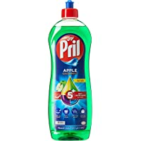 Pril Dishwashing Liquid - Apple (1 Litre), with 5+ Self-Degreasing Action Power, Long-Lasting Formula for Stains Removal…