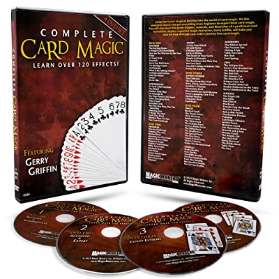 Magic Makers 120 Card Tricks, Complete Card Magic 7 Volume Set: Toys & Games