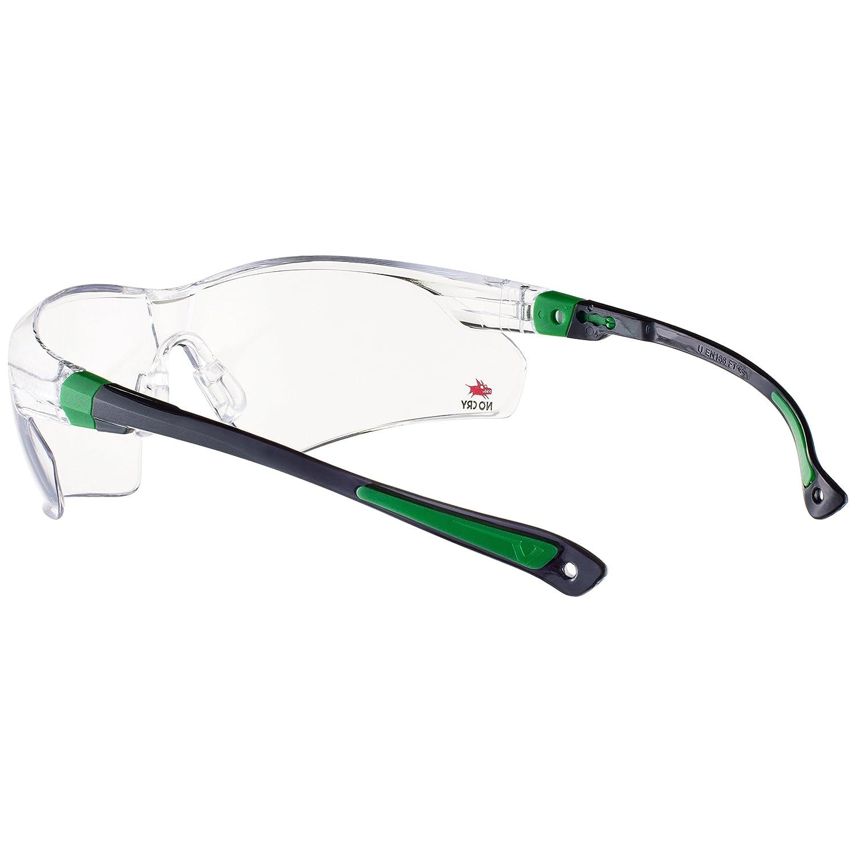 protecci/ón UV400. 506UG Nocry gafas de seguridad con lente transparente antiniebla y antiara/ñazos envolvente y patillas antideslizante