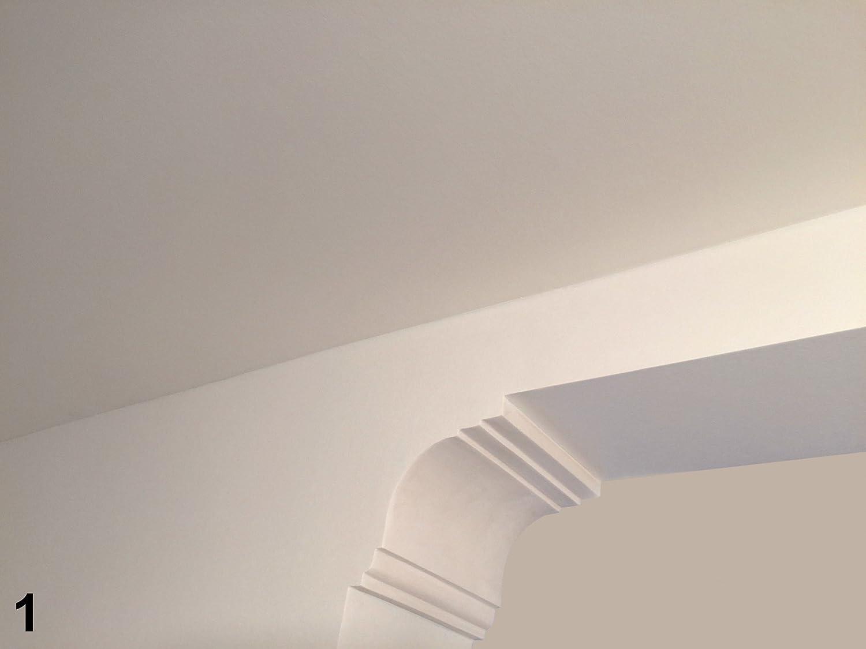 2 m/ètres LED PROFIL UNIT/É CENTRALE MOULURE en stuc Indirecte /Éclairage antichoc 80x70 led-1