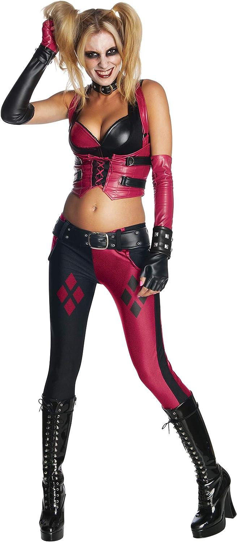 Rubbies - Disfraz de Harley Quinn para Mujer, Talla M (880586_M ...