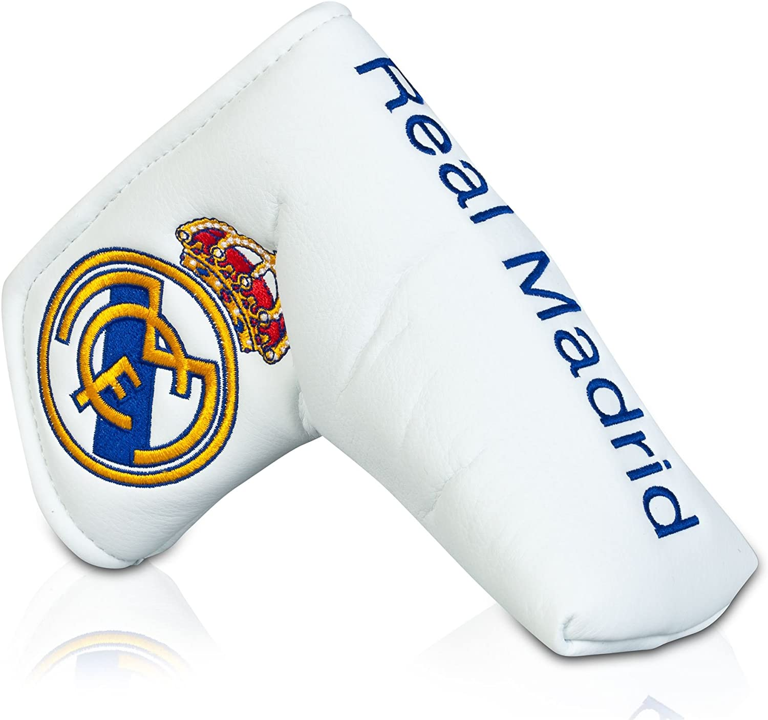 Real Madrid Golf Putter Mens hoja cubierta marcador de pelota ...