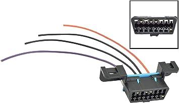 lm7 wiring harness amazon com ict billet gm ls obd2 dash diagnostic port 4 wire  gm ls obd2 dash diagnostic port 4 wire