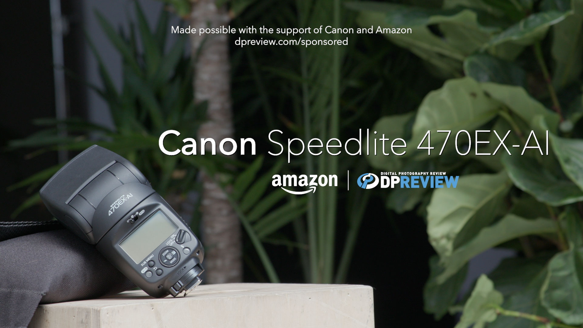 DPReview Canon Speedlite 470EX-AI Overview