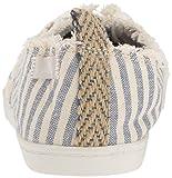 Sanuk Women's Maisie Sneaker, Blue Stripes, 09 M US