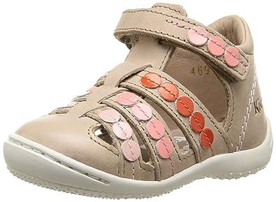 Kickers Gift, Chaussures Bébé marche bébé fille, Beige (Beige Rose), 7e76d469c8ee