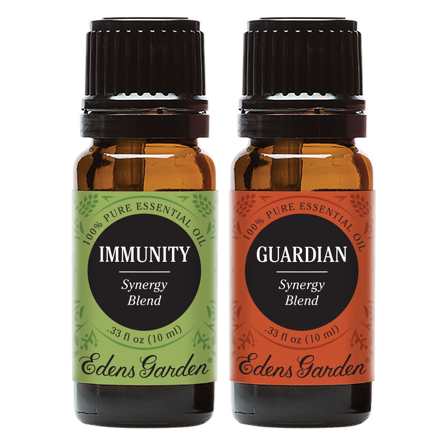 Edens Garden Guardian + Immunity Essential Oil Set, Best 100% Pure Aromatherapy Starter Kit (For Diffuser & Therapeutic Use), 10 ml