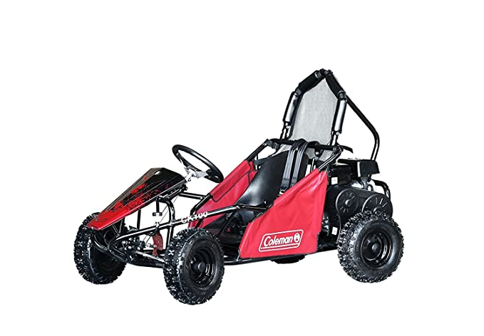 Amazon.com: Coleman Powersports 98cc/3.0HP CK100-S Go Kart Gas Powered Go Cart for Adults and Kids (13+): Automotive
