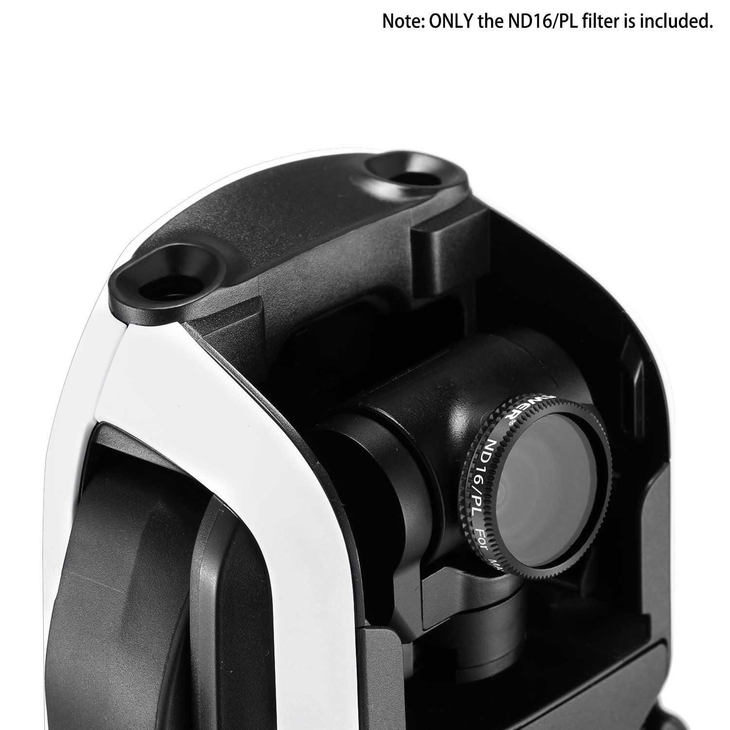 Neewer Pro ND 16 Filter for DJI Mavic Air Drone Quadcopter Black Made of Multi Coated Optical Glass and Waterproof Aluminum Alloy Frame