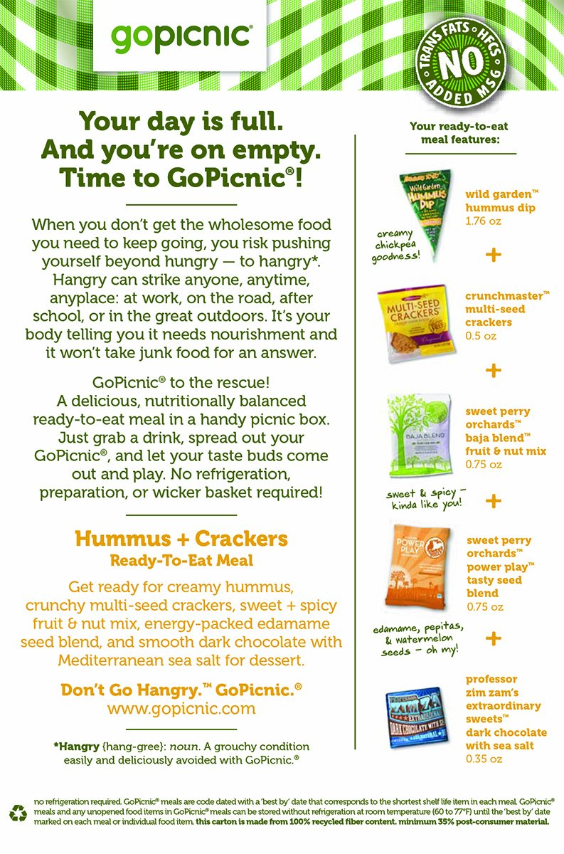 Amazon : Gopicnic Readytoeat Meals Tasty Favorites Variety Pack   Glutenfree, Vegetarian (pack Of 6) : Potato Chips And Crisps : Grocery &  Gourmet