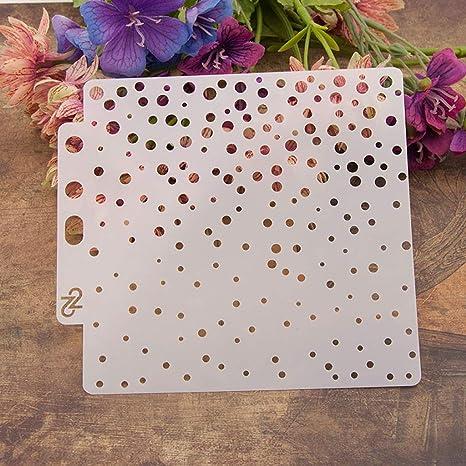 Bhty235 plantillas para la nube repujado /álbum de recortes para pintar plantillas tarjeta de /álbum para bricolaje plantillas de impresi/ón de moda