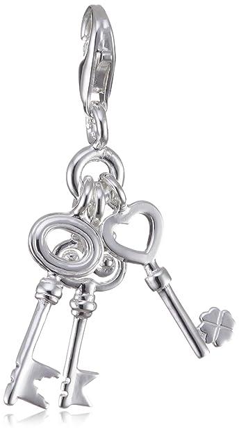 Thomas Sabo Women-Charm Pendant Wishbone Charm Club 925 Sterling silver 1402-001-12 YXDuKbi