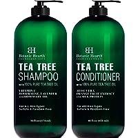 Botanic Hearth Tea Tree Shampoo and Conditioner Set - with 100% Pure Tea Tree Oil...