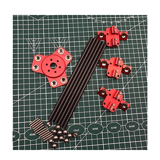 Kossel XL Magnetic Effect + Carriage + Carbon Tube Diagonal Tappet ...
